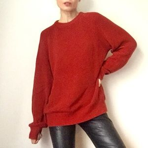 Chunky Cotton Sweater